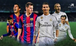 LA Liga Title Race: Barcelona & Real Madrid Now On Same Points | Who Do You Think Will Lift The 2017 Trophy?